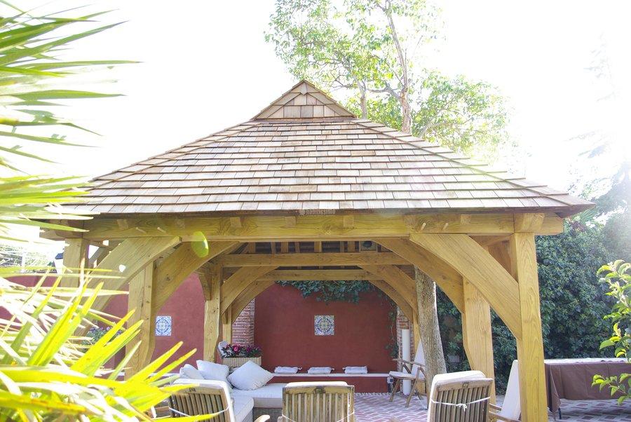 Foto construcci n casas carpinteros cubiertas de - Carpinteros en valladolid ...