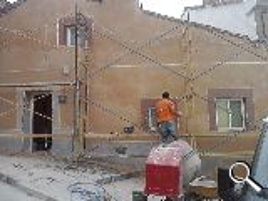 Foto monocapa fachada casa pueblo de reformas c b - Albaniles en palencia ...