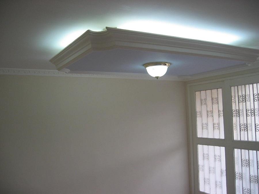 Foto foseado de luz indirecta en escayola de gualdecor - Luz indirecta escayola ...