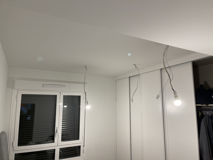 Instalación led dormitorio