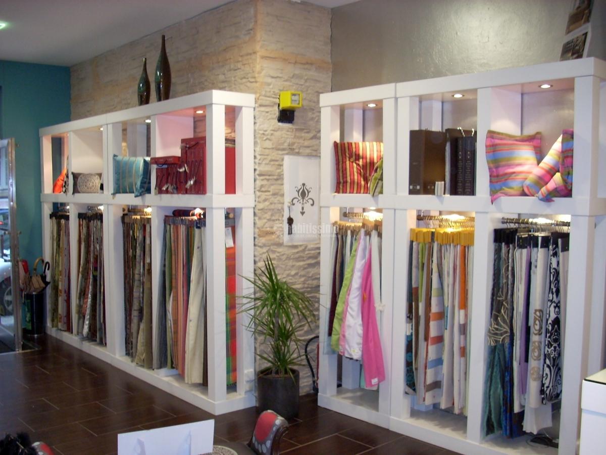Foto cortinas tiendas tapiceros de cortinajes hortig n - Tapicerias en santander ...