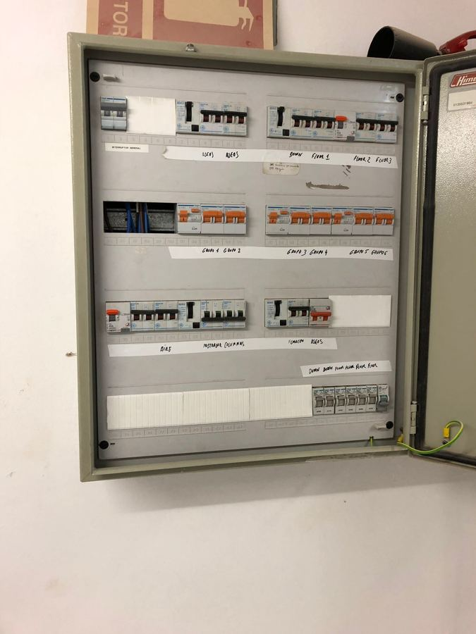 Cuadro eléctrico adaptado a nueva normativa