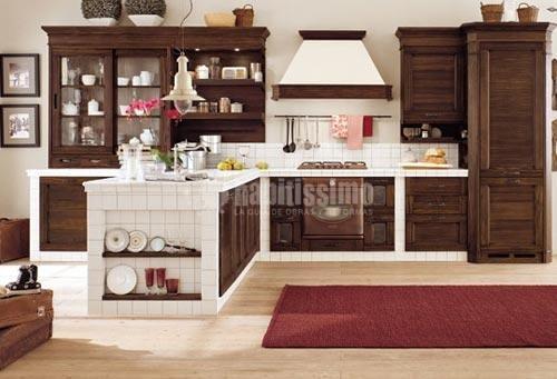 Foto muebles cocina art culos decoraci n decoraci n de - Cocinas de obra rusticas ...