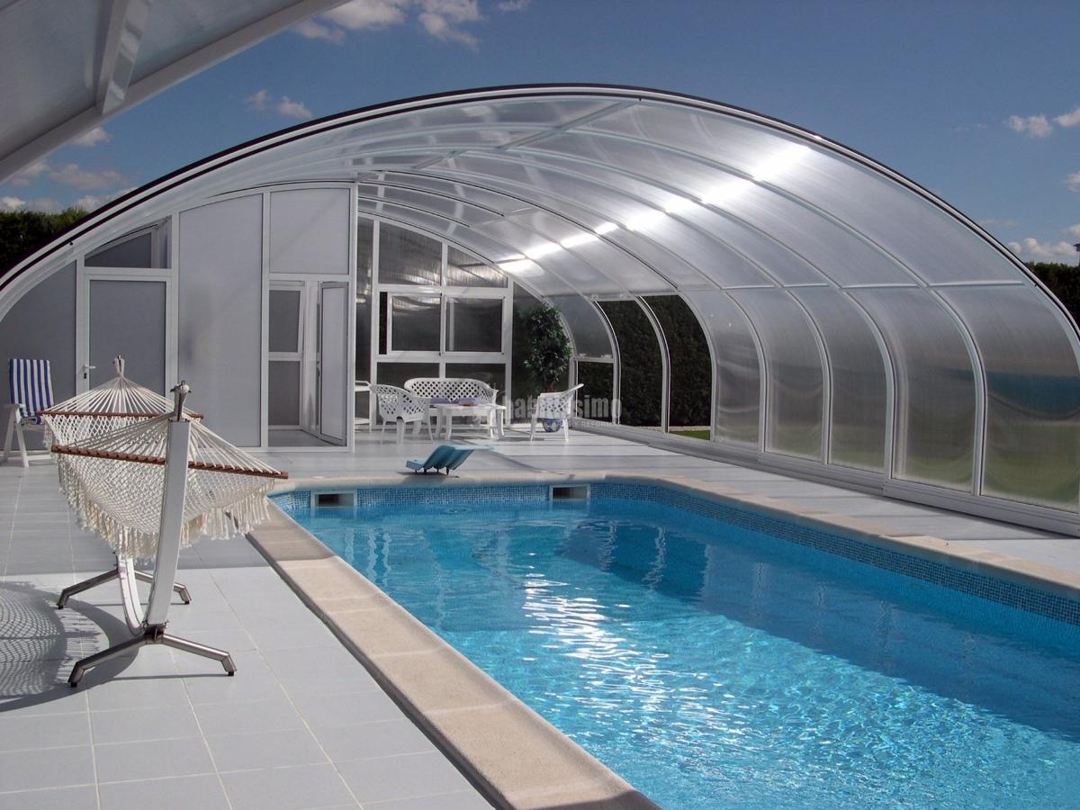 Foto carpinter a aluminio techos m viles cubiertas for Piscinas cubiertas salamanca