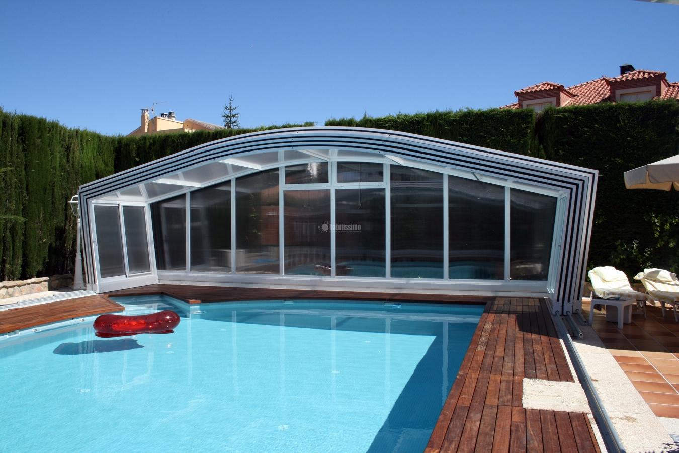 Foto carpinter a aluminio techos m viles cubiertas for Piscinas de aluminio