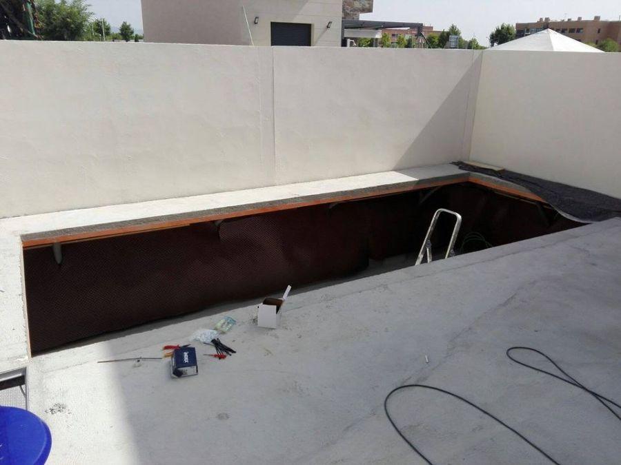 Instalación de piscina y jacuzzi