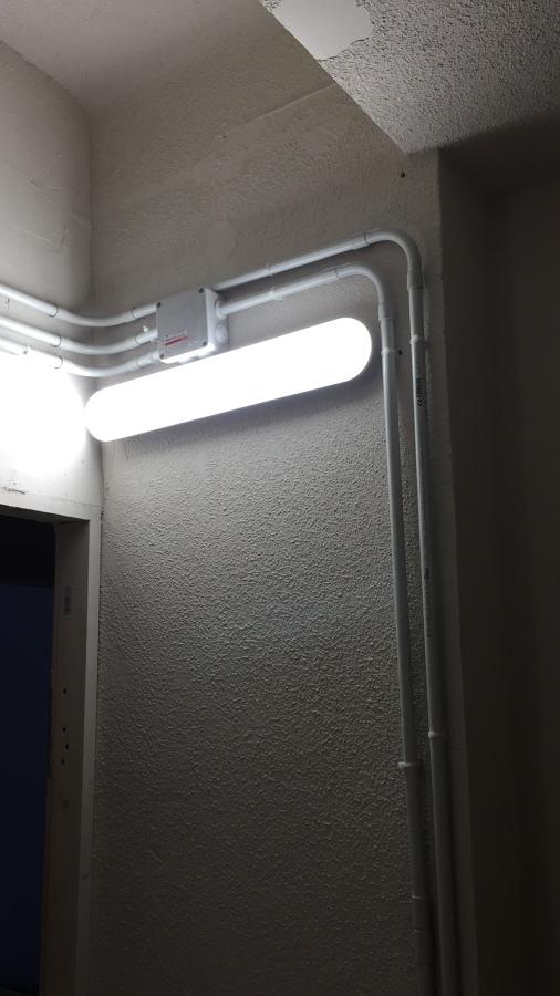 Iluminacion garaje