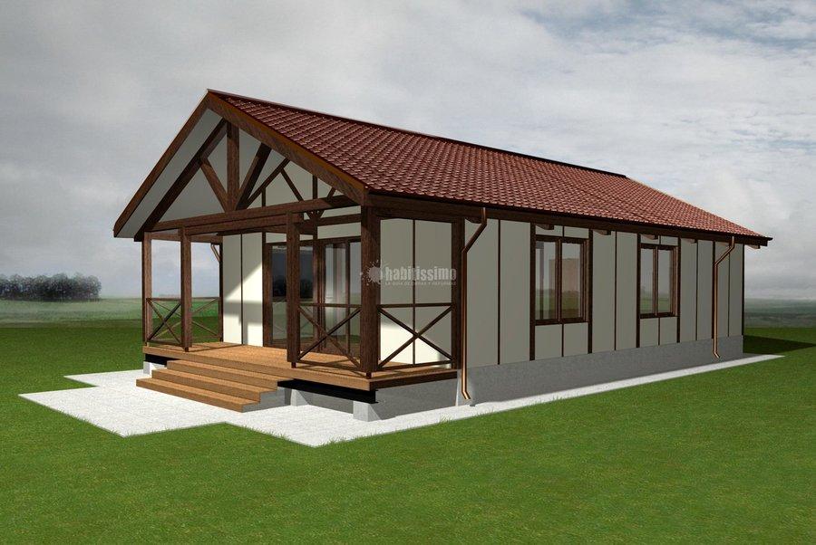 Foto construcci n casas casas prefabricadas casas - Casas prefabricadas en zaragoza ...