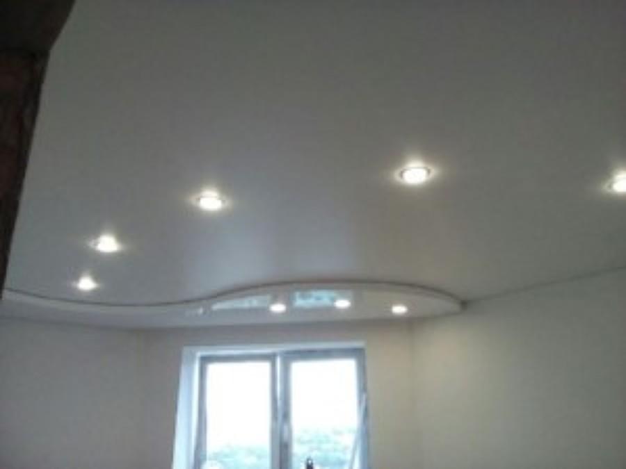 instalación de techo de pladur con forma