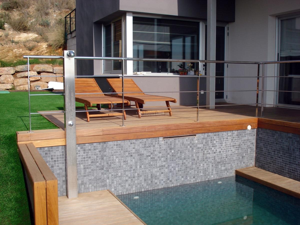 Foto muebles jard n decoraci n reformas piscinas de for Muebles jardin murcia