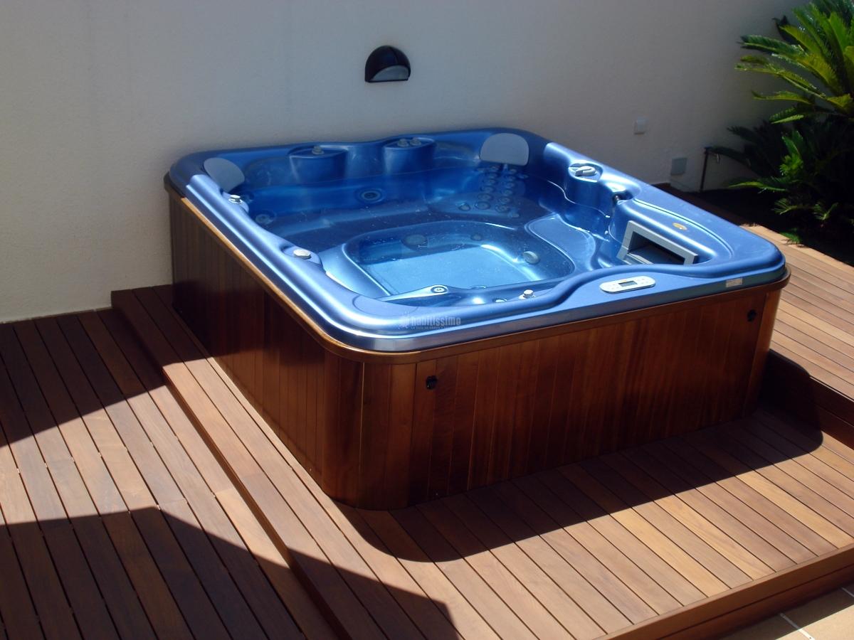 Foto muebles jard n piscinas paisajistas de exteriors for Muebles piscina jardin