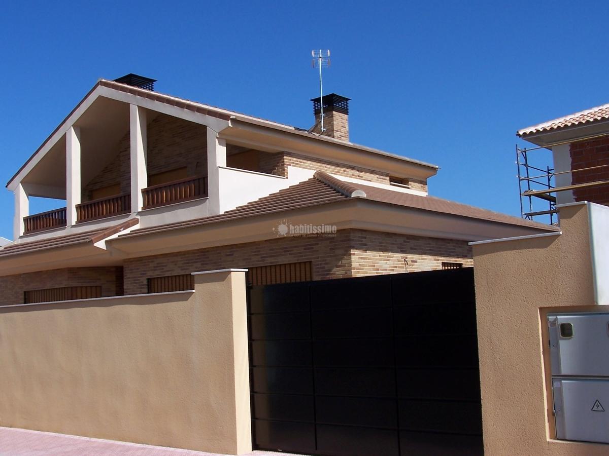 Foto construcci n casas alba iles constructores de - Constructores de casas ...