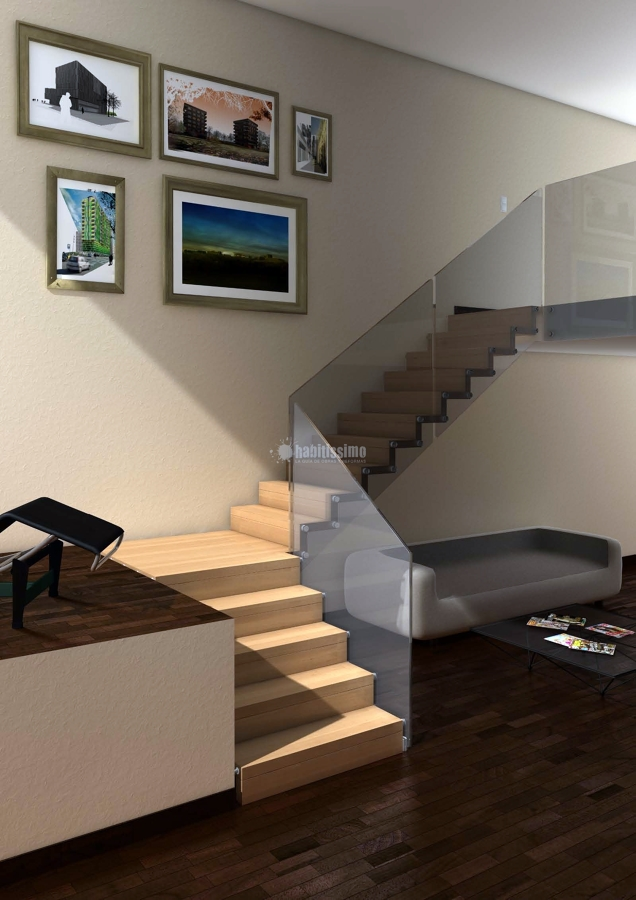 Foto reformas viviendas escaleras construcciones - Escaleras de interior de obra ...