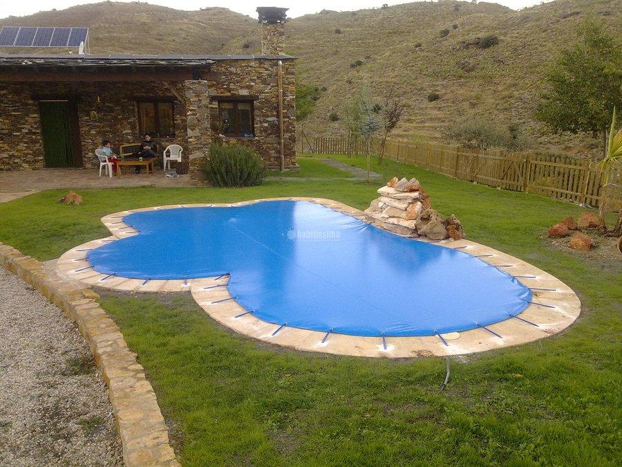 Foto toldos lona piscina publicidad de toldos joypa for Toldos para piscinas