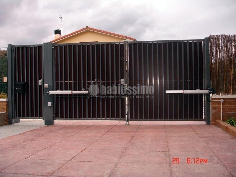 Puertas Garaje, Persianas Aluminio, Automatismos