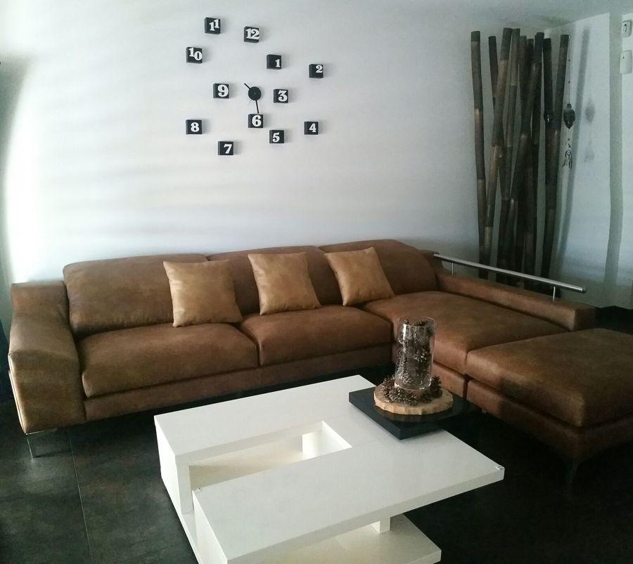Sofá en tejido