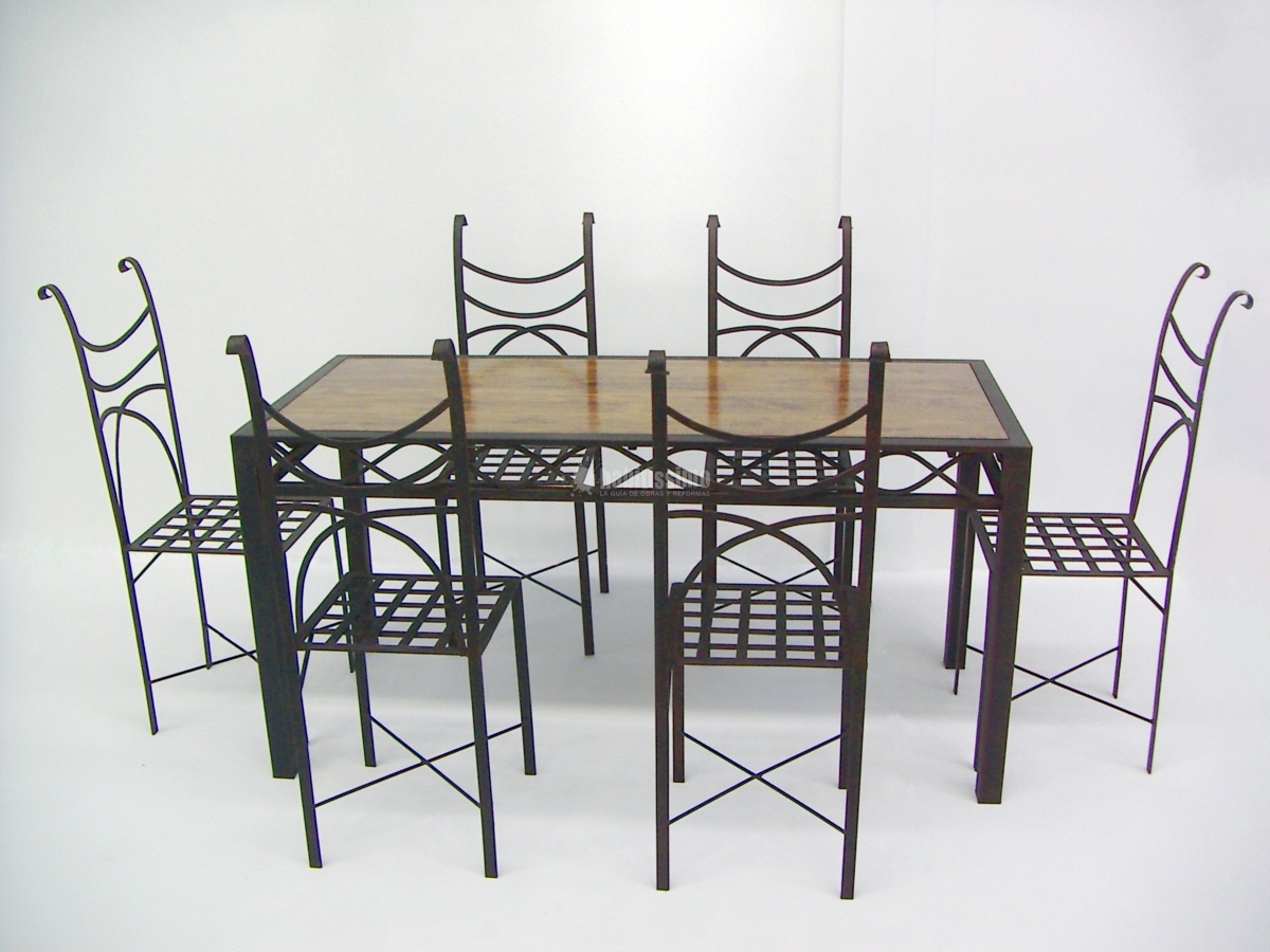 Muebles, Muebles Jardín, Forja
