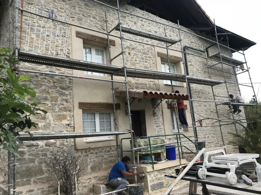 Reforma de casa de piedra