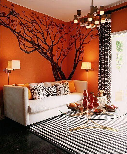 abre las puertas de tu casa al naranja.