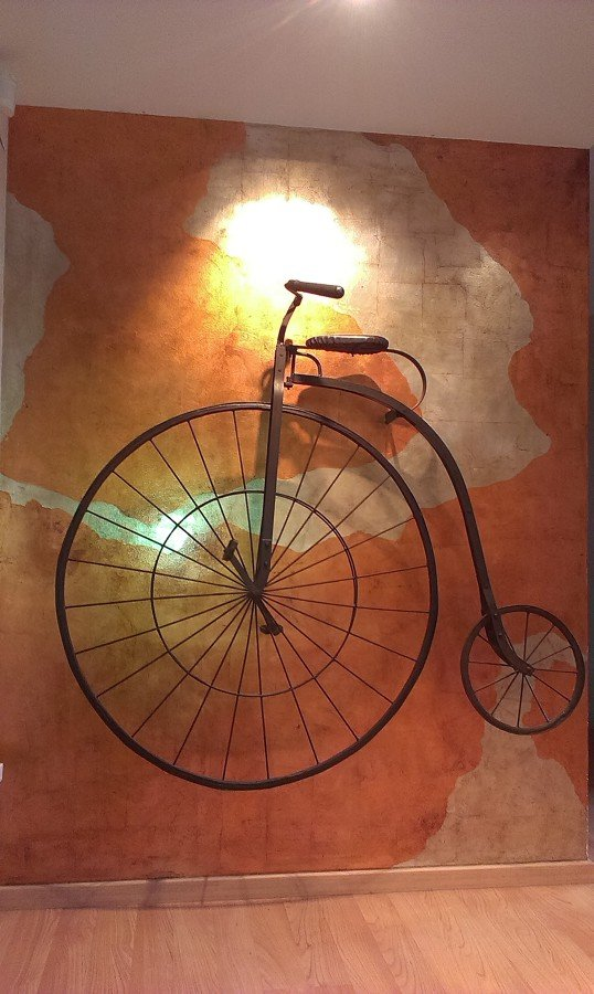 Acabado decorativo Pan de plata/cobre envejecido