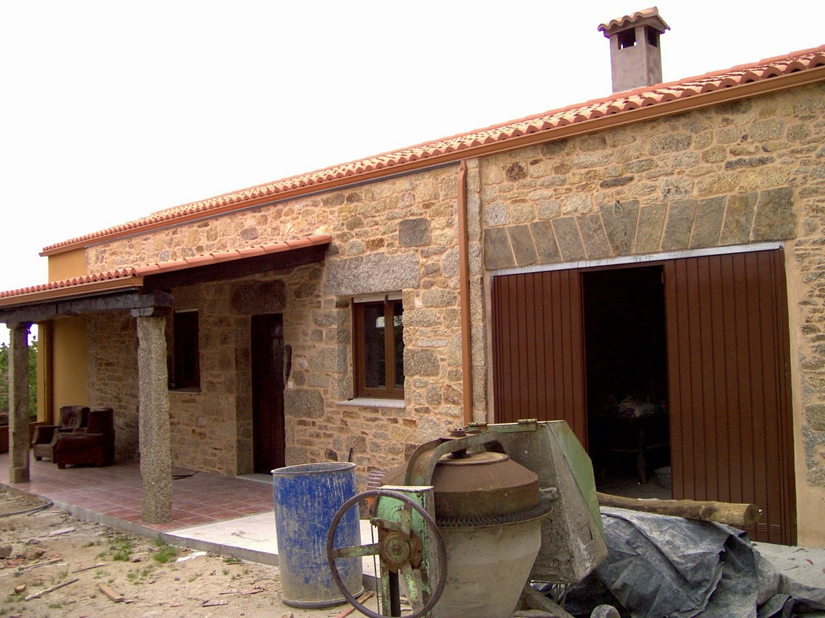 Acondicionamiento de casa de piedra