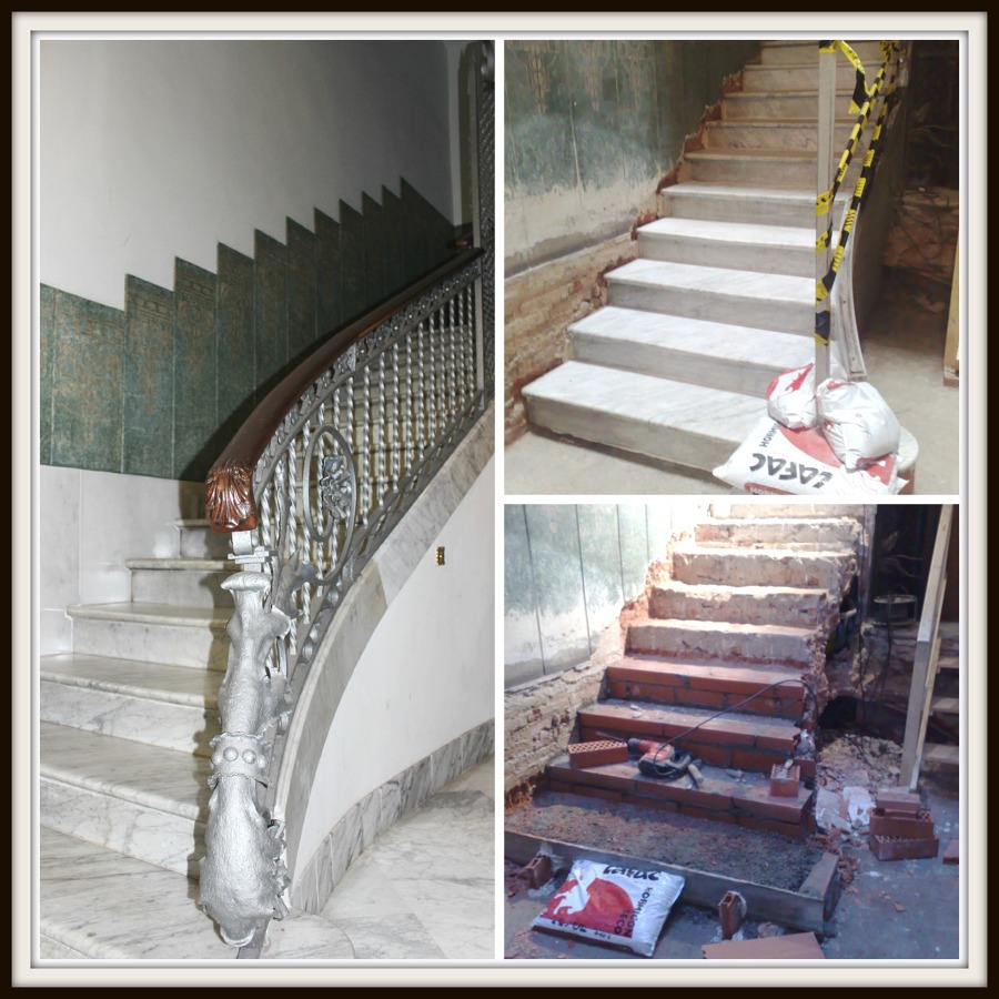 Adaptación de escalera en zona común