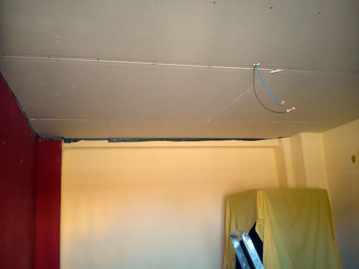 Aislamiento acustico de techo.
