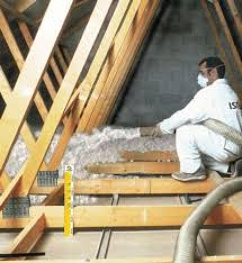 Foto aislamiento de falso techo de supafil 589265 - Aislamiento para techos ...