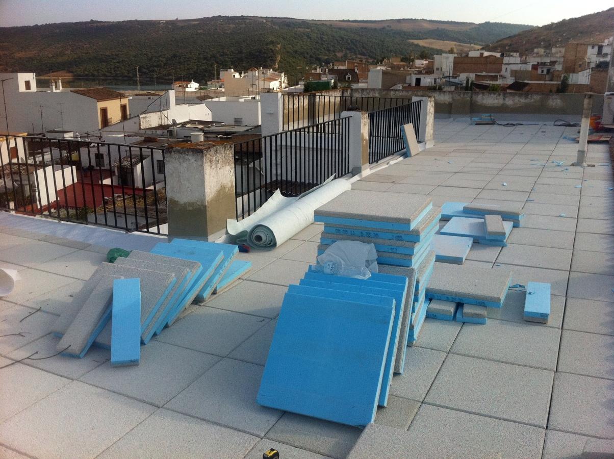 Aislamiento Termico e impermeabilización Casa Bornos