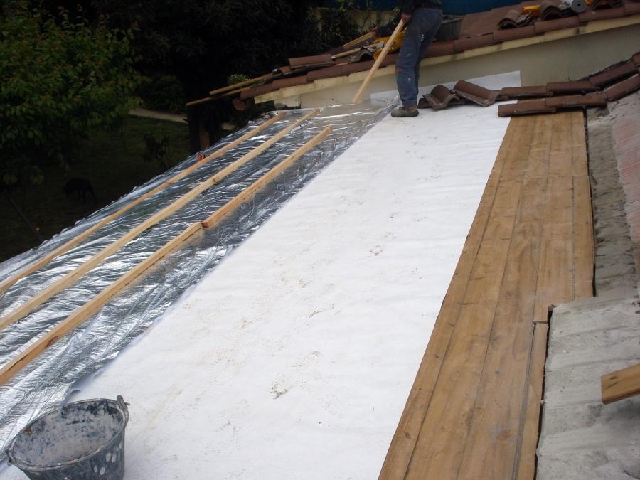 foto aislar tejado de construcciones a carpintero s l