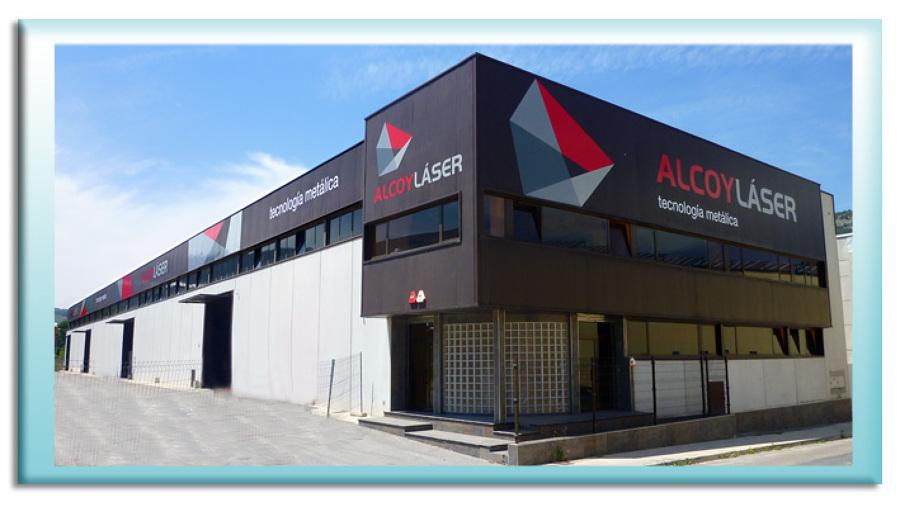 Foto alcoy laser fachada nave industrial de r tulos - Fachada nave industrial ...