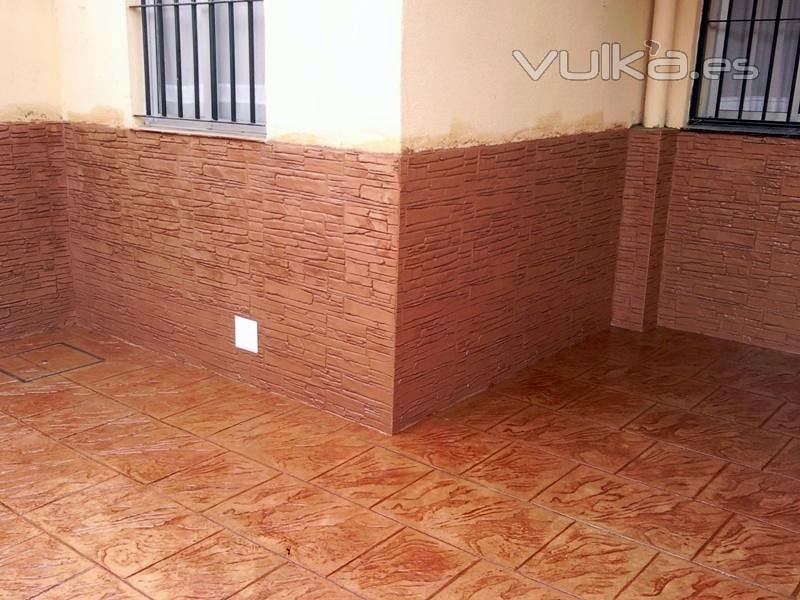 Foto algeciras de pavimentos andalucia 365407 habitissimo for Hormigon impreso paredes