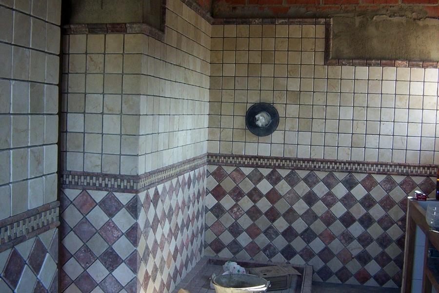 Foto alicatado de azulejos en cuarto de ba o de innova - Azulejos de cuartos de bano ...
