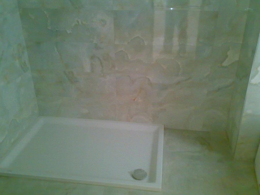 Foto alicatado marmol y colocar plato ducha de constantin - Colocar plato ducha ...
