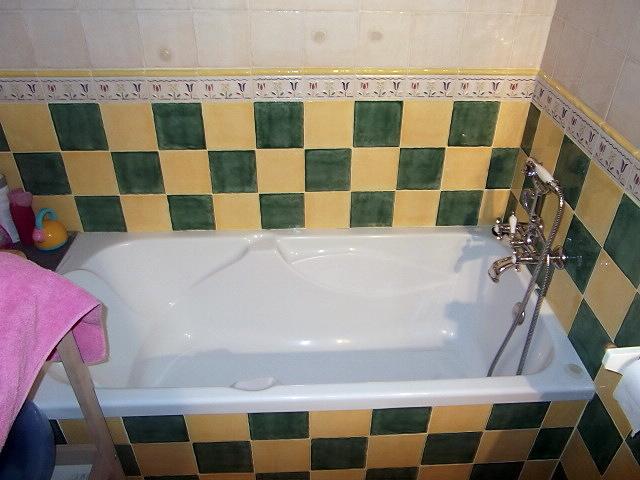 Foto alicatados de ba os y colocaciones de ba eras o - Banera o plato de ducha ...