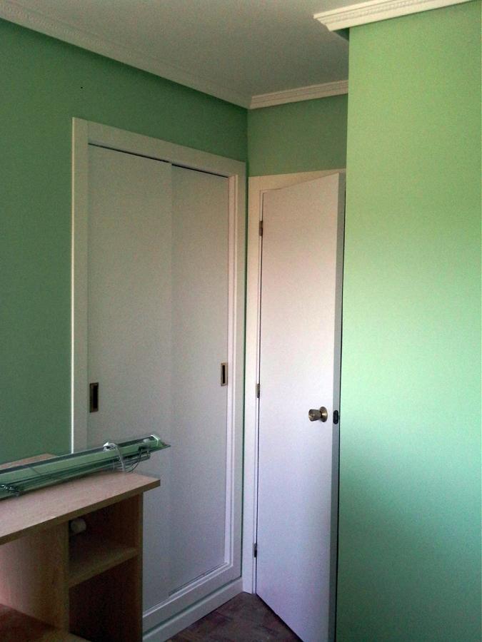 alisado de gotele y lacado de puertas
