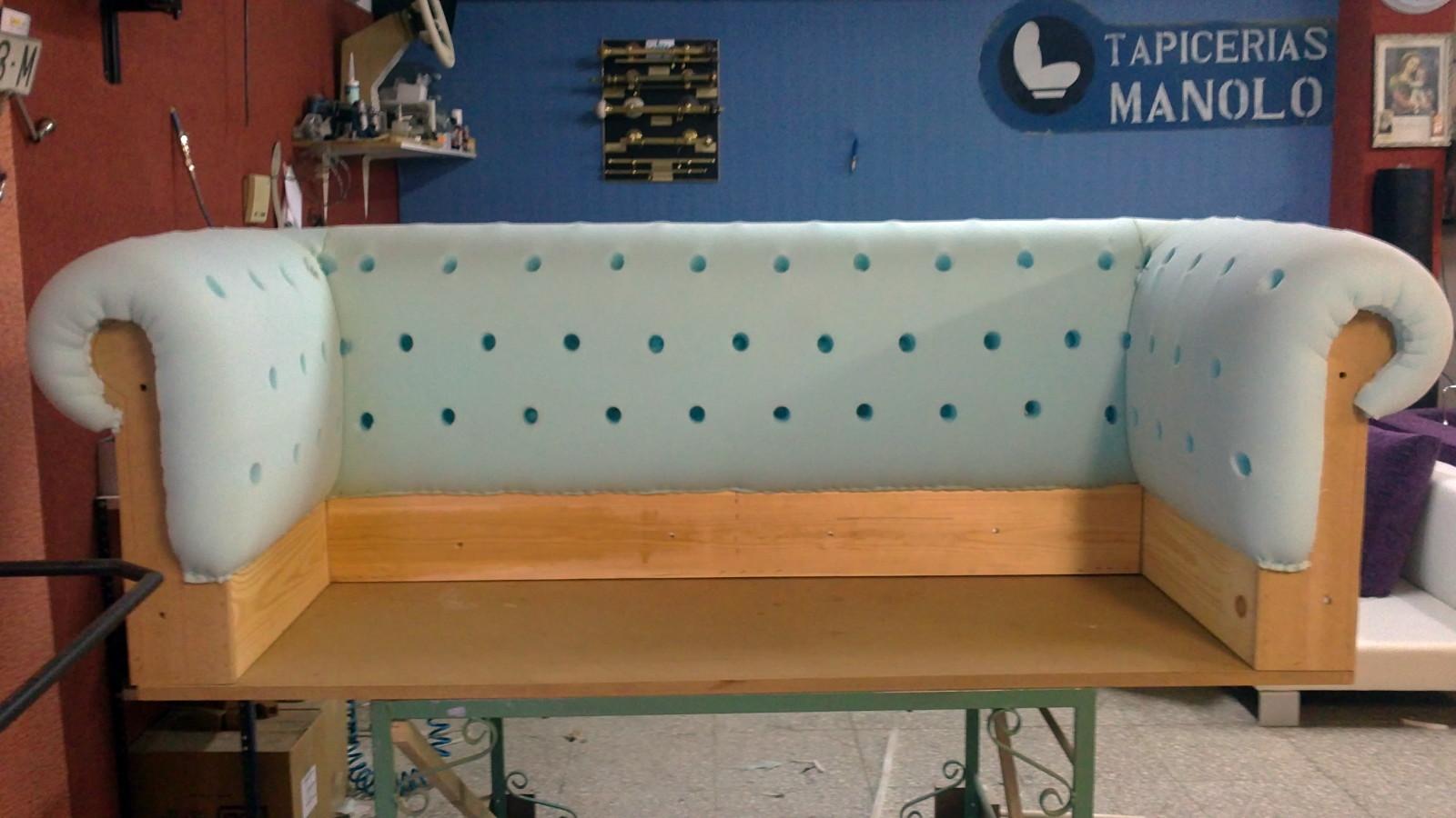 Foto almazon de soaf chester preparado para tapizar de - Tapicerias en sevilla ...