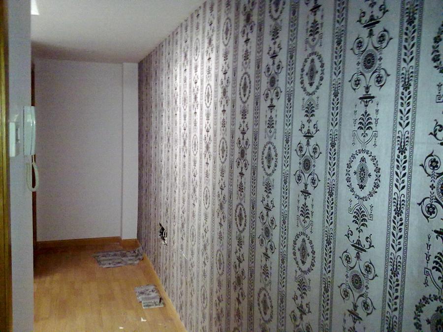 Foto alta decoracion colocacion papeles pintados de - Papeles pintados sevilla ...