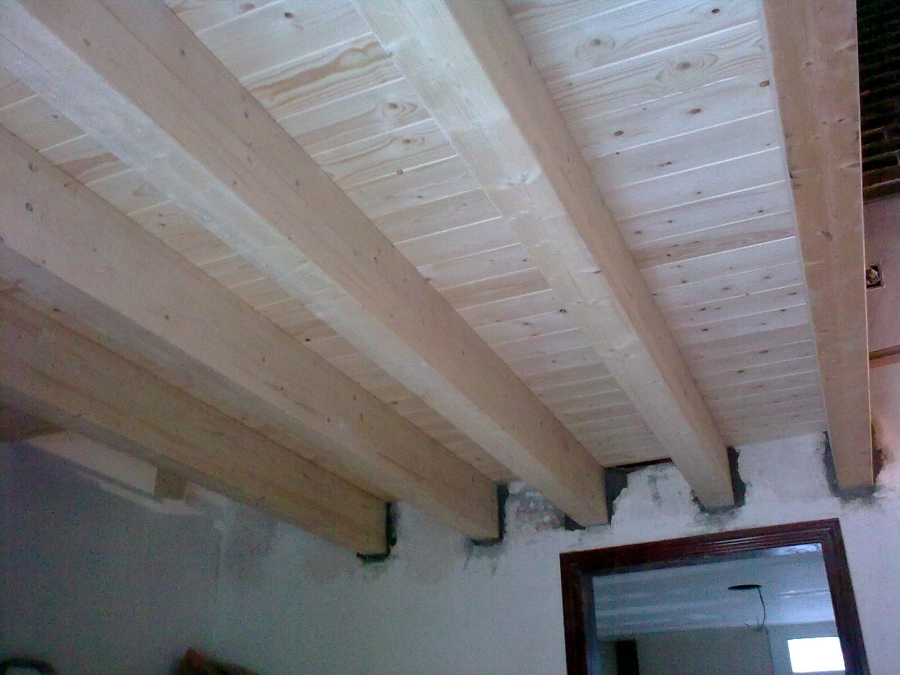 Foto altillo madera maciza de reformas f g 402650 for Construir altillo madera