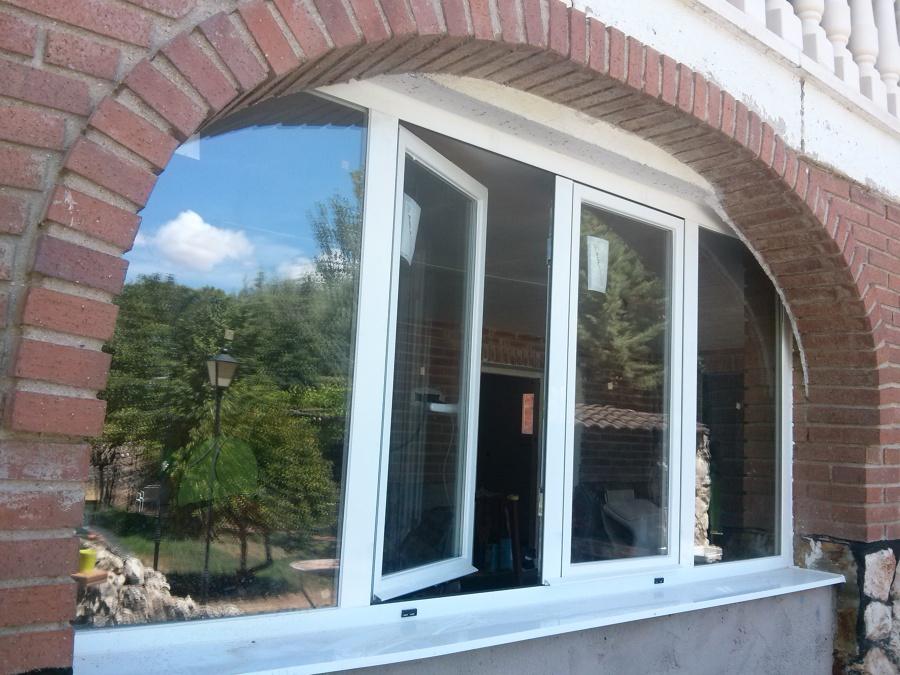 Foto ventana aluminio de cristaleria luis 900886 - Cristaleras de aluminio ...