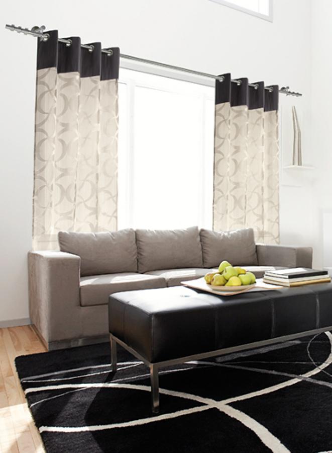Foto cortina oyados de tejidos rosan moda hogar 1101761 - Tejidos madrid en sevilla ...
