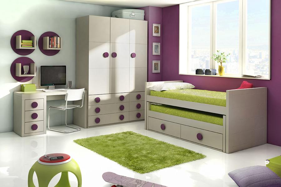 Amueblamiento de dormitorio juvenil 2