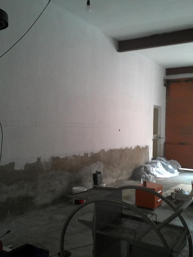 antes de pintar