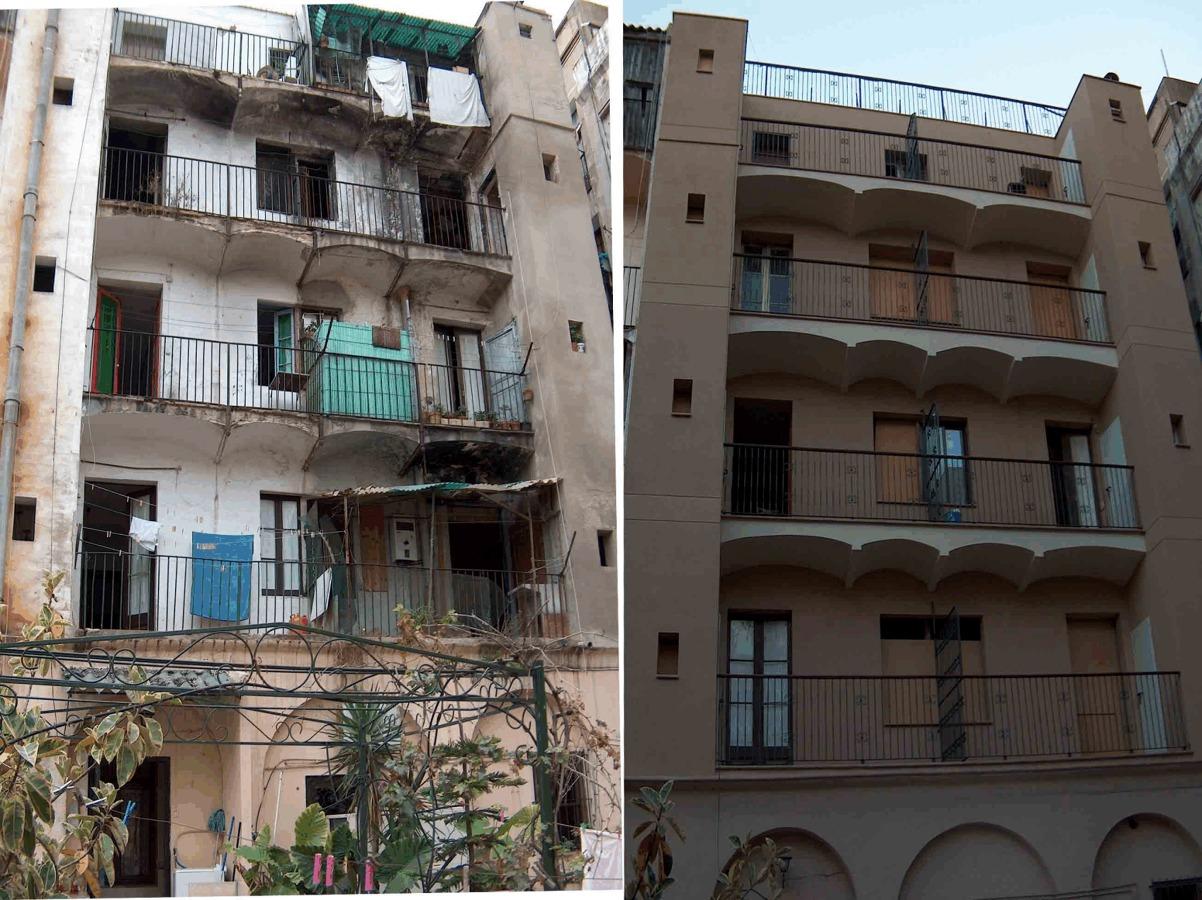 Antes y después de una restauración