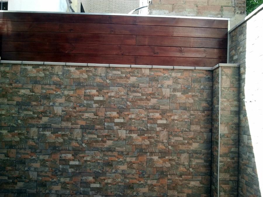 Decoracion mueble sofa aplacado piedra natural - Imitacion a piedra para paredes precios ...