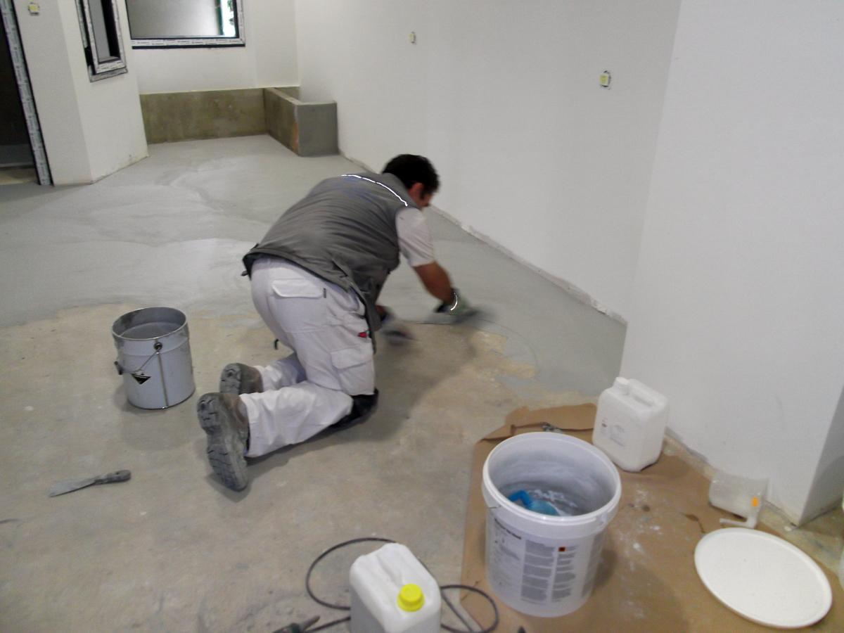 Foto aplicacion de cemento pulido de proyectos 151706 habitissimo - Banos cemento pulido ...