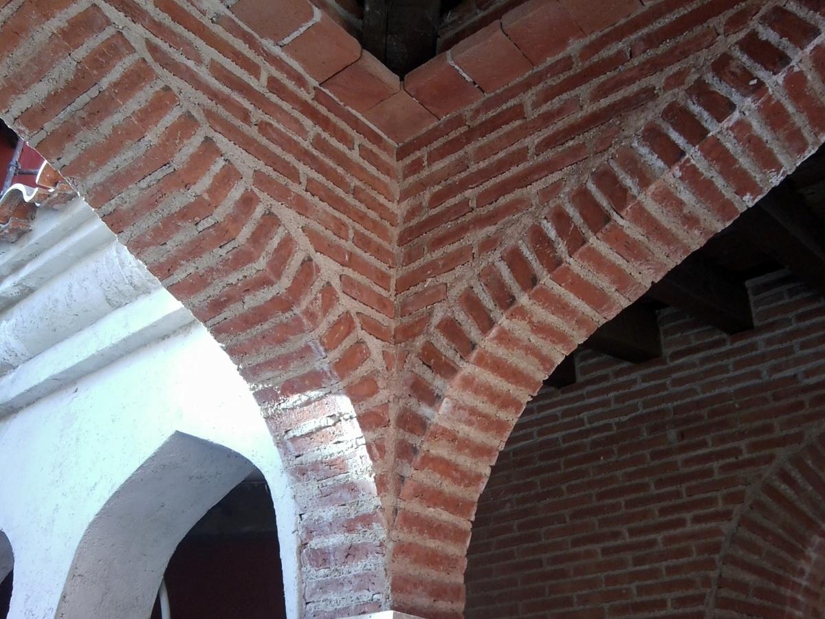 Foto arcos ladrillo cara vista de roma s l obras y - Arcos de ladrillo visto ...