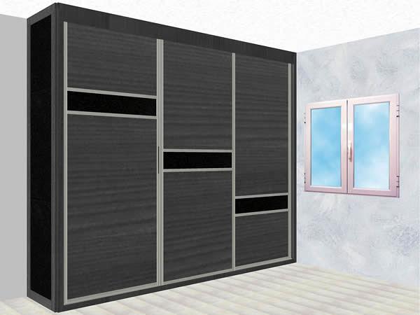 Foto armario corredero a medida modelo wanguar 1 armario - Medidas de puertas correderas ...