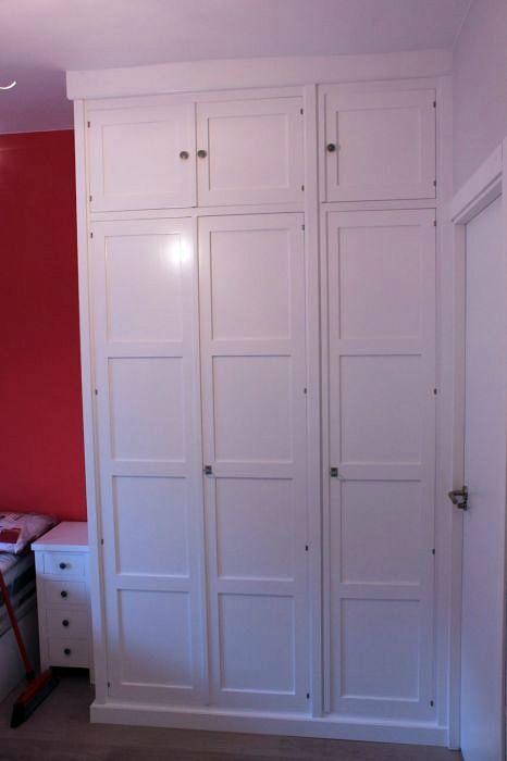 Foto armario empotrado blanco de muebles modesto 186655 - Armario empotrado blanco ...