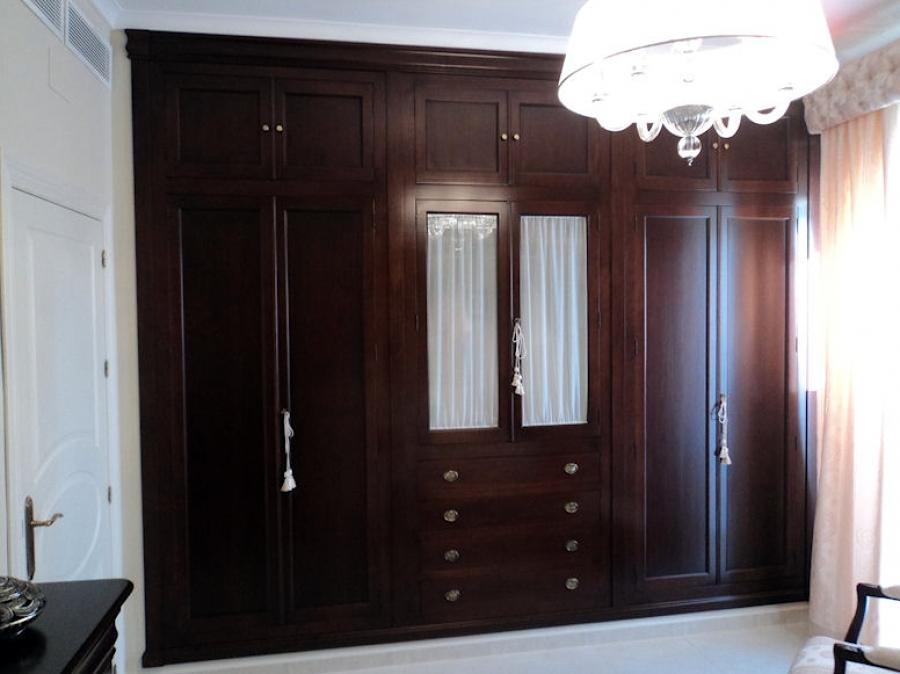 Foto armario empotrado cl sico de muebles modesto 186654 - Muebles armarios roperos ...